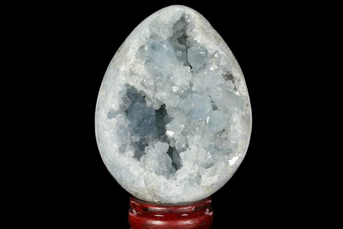 "4.75"" Crystal Filled Celestine (Celestite) ""Egg"" Geode - Madagascar"
