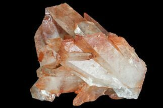 Quartz with Iron Oxide - Fossils For Sale - #101016