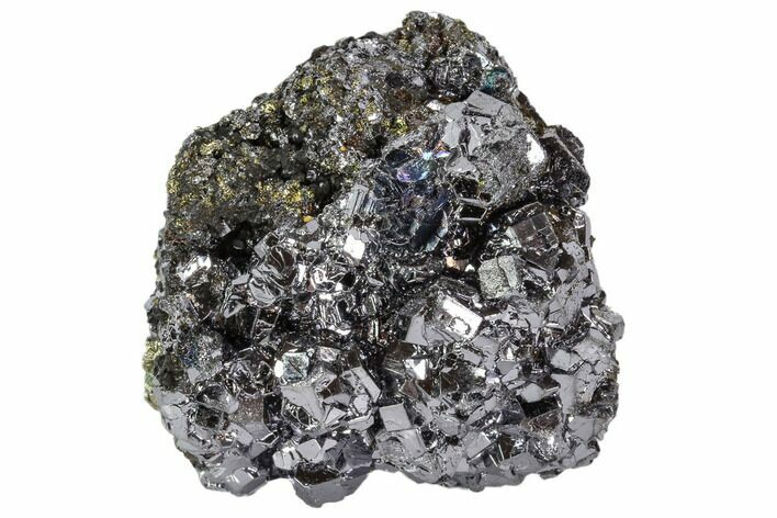 "2.1"" Galena and Pyrite Association - Peru"