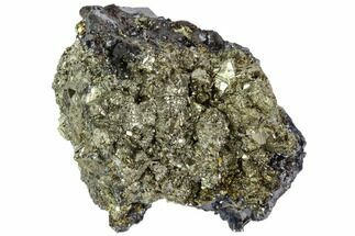 "2.1"" Galena, Chalcopyrite and Pyrite Association - Peru For Sale, #102542"