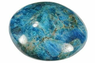 "2.5"" Blue Apatite Palm Stone - 1 Piece For Sale, #103901"