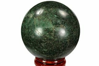 "Buy 2.1"" Polished Fuchsite Sphere - Madagascar - #104233"