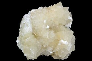 "Buy 4.8"" Fluorescent Calcite Crystal Cluster - Morocco - #104371"