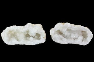 "Buy Large 7.4"" Quartz Geode - Morocco - Both Halves - #104029"