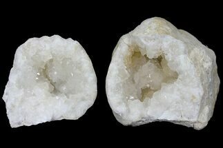 "Buy Large, 7.6"" Quartz Geode (Both Halves) - Morocco  - #104344"