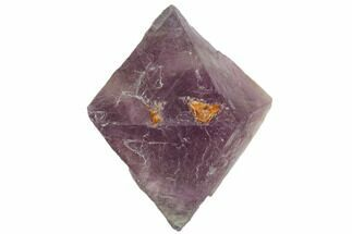 "1.78"" Fluorite Octahedron - Purple/Green Banded For Sale, #104738"