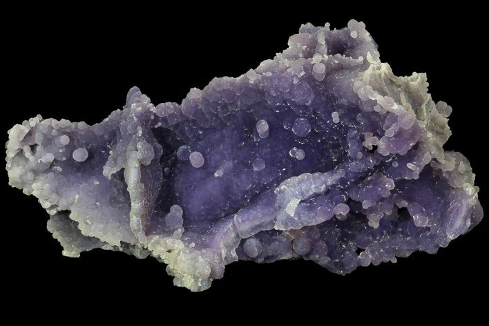 "4.7"" Purple, Druzy, Botryoidal Grape Agate - Indonesia"