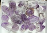 "Wholesale Lot: 1.5-2.6"" Amethyst Points - 37 Pieces - #105350-1"