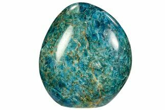 "4.2"" Blue Apatite Free Standing Sculpture - Madagascar For Sale, #80000"