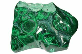 "Buy 4.8"" Bargain Polished Malachite Specimen - Congo - #106234"