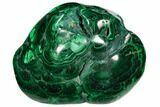 "2.6"" Polished Malachite Specimen - Congo - #106215-1"