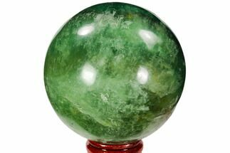 "Buy 2.8"" Polished Green Fluorite Sphere - Madagascar - #106291"