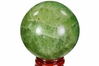 "2.2"" Polished Green Fluorite Sphere - Madagascar For Sale, #106277"