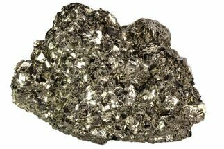 "4.7"" Gleaming Pyrite Crystal Cluster - Peru For Sale, #106856"
