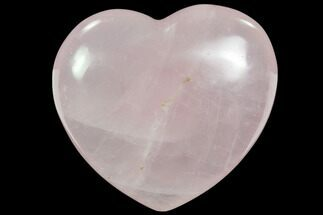 "Buy 3.4"" Polished Rose Quartz Heart - Madagascar - #63031"