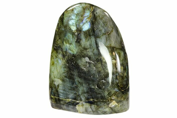 "4"" Flashy Polished Labradorite Free Form - Madagascar"