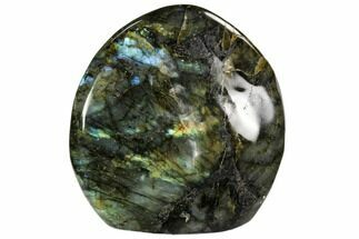 "4.2"" Flashy Polished Labradorite Free Form - Madagascar For Sale, #106919"