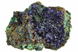 Azurite & Malachite - Fossils For Sale - #107205