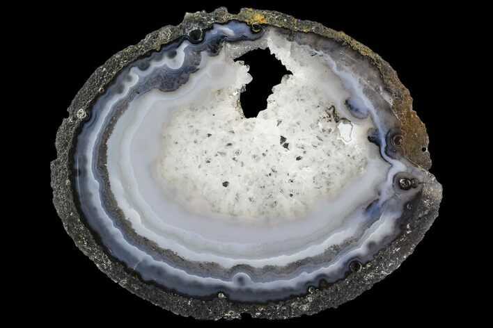 "6.4"" Polished Brazilian Agate Slice"