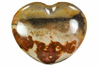"Buy 4.2"" Wide, Polychrome Jasper Heart - Madagascar - #108319"