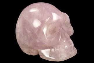 "Buy 5.2"" Polished Rose Quartz Crystal Skull - Madagascar - #108355"