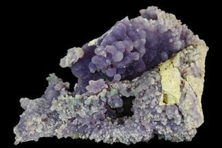 "4.2"" Purple Botryoidal Grape Agate - Indonesia For Sale, #109397"