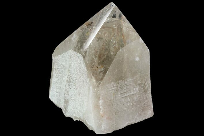 "4.3"" Polished Quartz Crystal Point - Brazil"