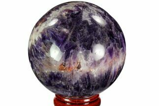 "Buy 2.3"" Polished Chevron Amethyst Sphere - Morocco - #110212"