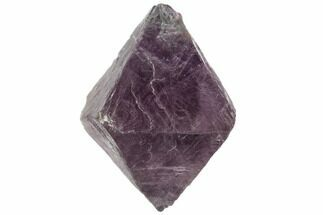 "Buy 2.2"" Purple/Green Banded Fluorite Octahedron - China - #110056"