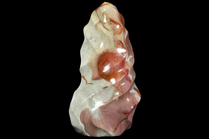 "10.9"" Polished Polychrome Jasper ""Flame"" - Madagascar"