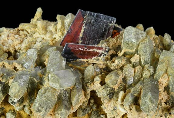 "2.4"" Brookite and Chlorite Quartz - Pakistan"
