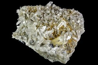 "4.4"" Anatase Crystals, Quartz and Adularia - Norway For Sale, #111425"