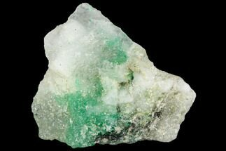 Beryl var. Emerald & Calcite - Fossils For Sale - #112062