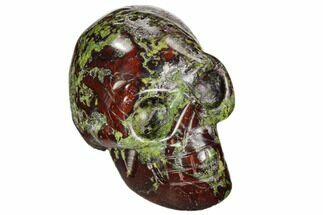 "2"" Polished Dragon's Blood Jasper Skull - South Africa For Sale, #112184"