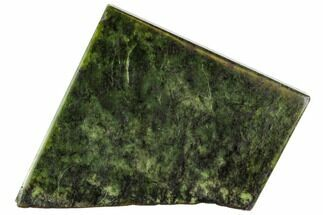 "Buy 4.4"" Polished Canadian Jade (Nephrite) Slab - British Colombia - #112732"