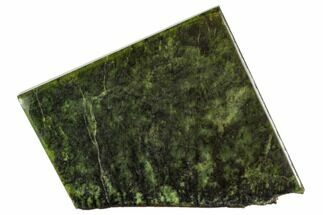 "4.3"" Polished Canadian Jade (Nephrite) Slab - British Colombia For Sale, #112733"