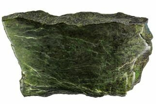 "Buy 8.8"" Polished Canadian Jade (Nephrite) Slab - British Colombia - #112747"