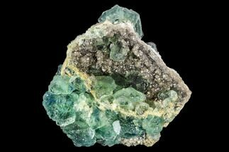 Fluorite & Quartz - Fossils For Sale - #112854