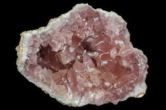 "2.4"" Pink Amethyst Geode Section - Argentina For Sale, #113318"