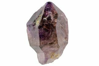 Quartz var. Amethyst/Smoky & Hematite - Fossils For Sale - #113427
