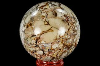 "2.45"" Polished Ibis Jasper Sphere - Madagascar For Sale, #113687"
