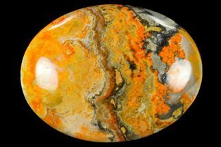 "Buy 1.9"" Polished Bumblebee Jasper Stone - Indonesia - #114643"