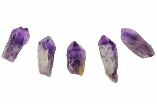 "1-2"" Natural, Amethyst Crystal Point - 1 Point For Sale, #115451"