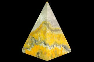 "Buy 2.8"" Polished Bumble Bee Jasper Pyramid - Indonesia - #115000"