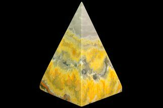 "Buy 2.9"" Polished Bumble Bee Jasper Pyramid - Indonesia - #115006"