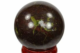 "1.6"" Polished Dragon's Blood Jasper Sphere - Australia For Sale, #116108"