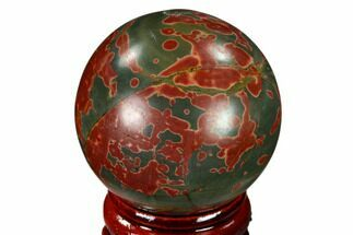 "Buy 1.55"" Polished Cherry Creek Jasper Sphere - China - #116203"