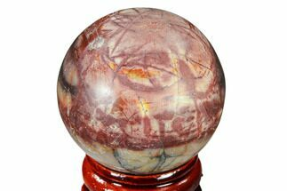 "1.55"" Polished Cherry Creek Jasper Sphere - China For Sale, #116210"