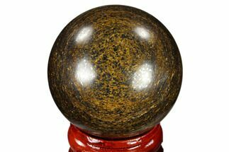 "Buy 1.6"" Polished Bronzite Sphere - Brazil - #115987"