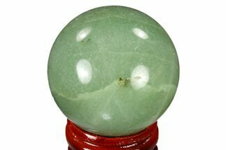 "Buy 1.6"" Polished Green Aventurine Sphere - China - #116011"